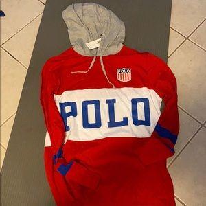 Ralph Lauren polo track hoodie